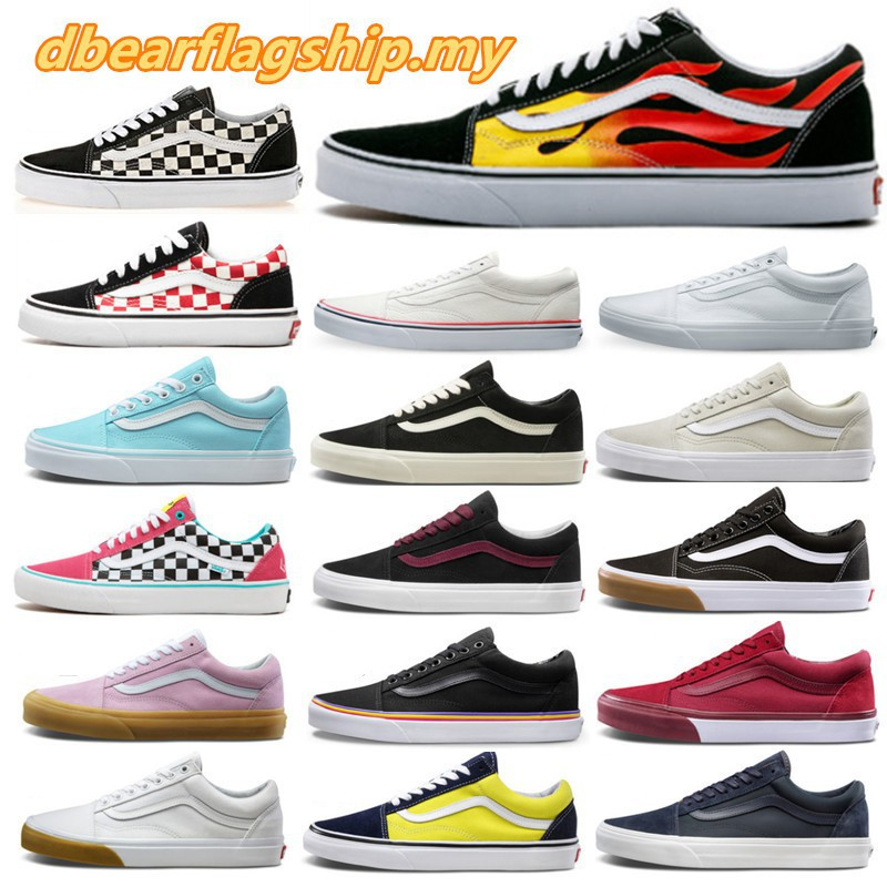 23 Colors VANS OLD SKOOL Platform Original Classic Sneakers Authentic Shoes