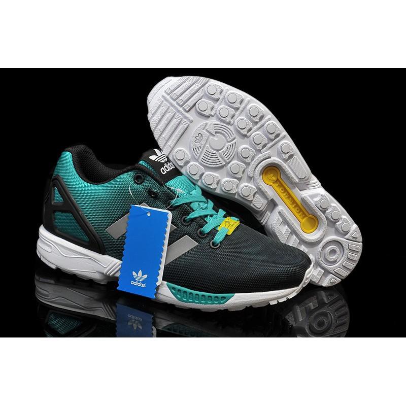 promo code aabb1 75e0e Adidas ZX Flux Reflective Black Metallic Silver Mint