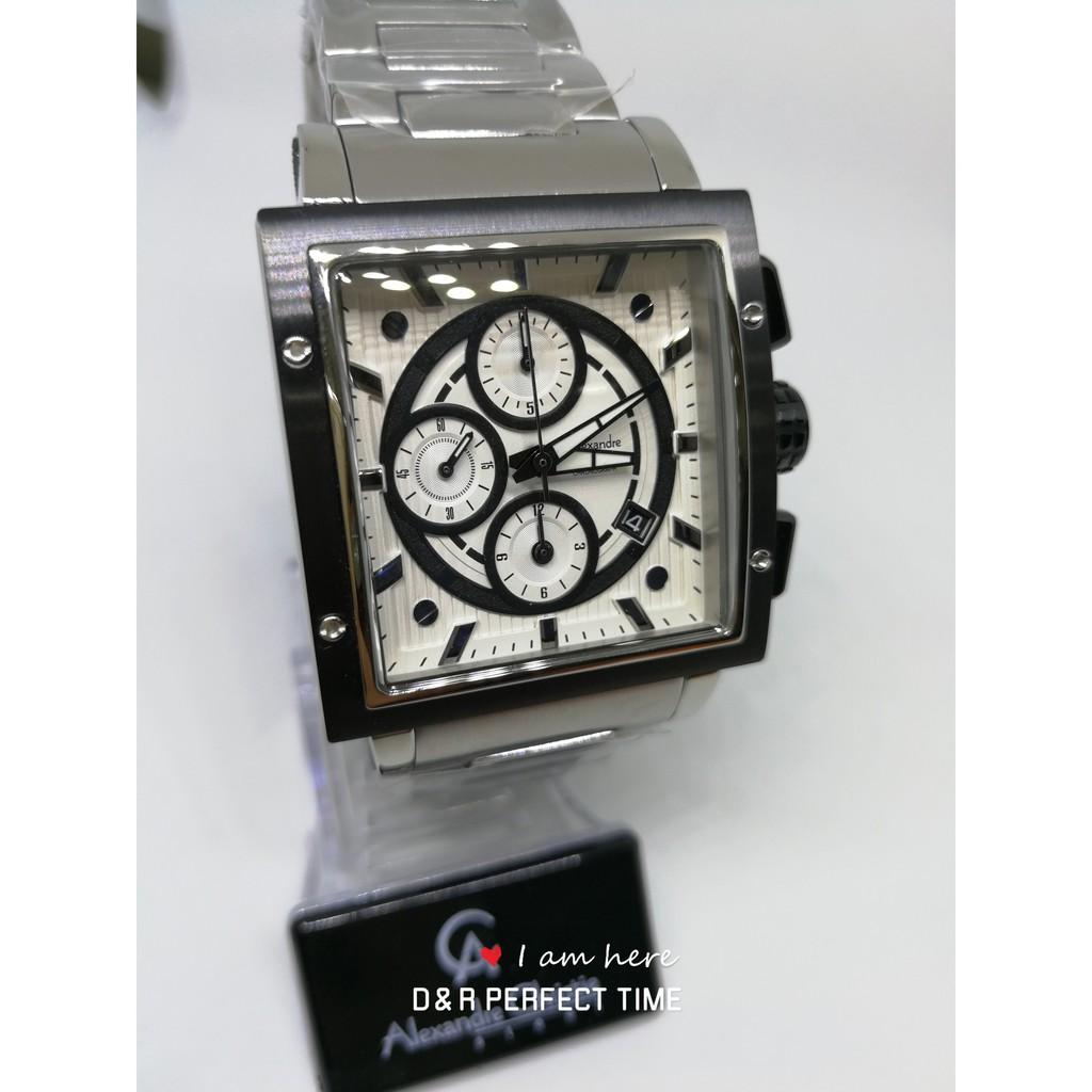 Alexandre Christie 6410mc Original Steel With International Warranty Ac 6410 Mc Silver Black White And Box Shopee Malaysia