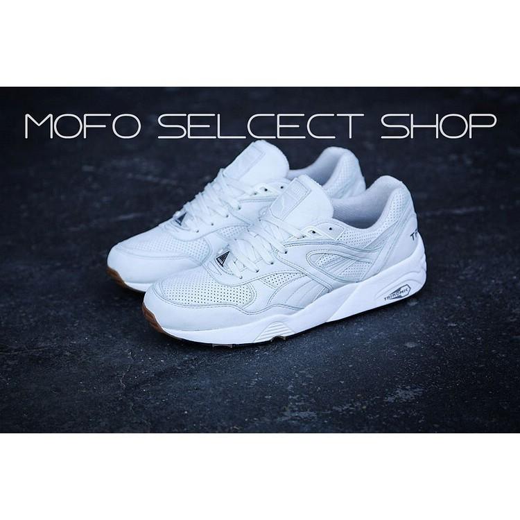 a7547742b85 authentic PUMA Trinomic R698 grey white men women sport running shoe size  36-44