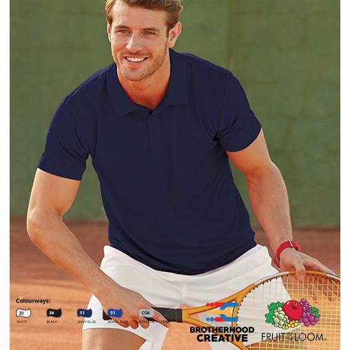 3 Or 5 Pack Fruit of the Loom Men/'s Plain Half Sleeves Ringspun Premium T-Shirt