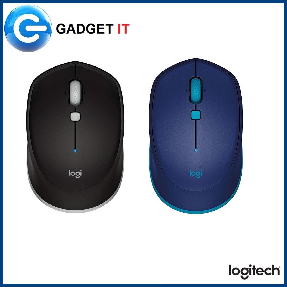 Logitech M337 Bluetooth Mouse (Black / BLUE )