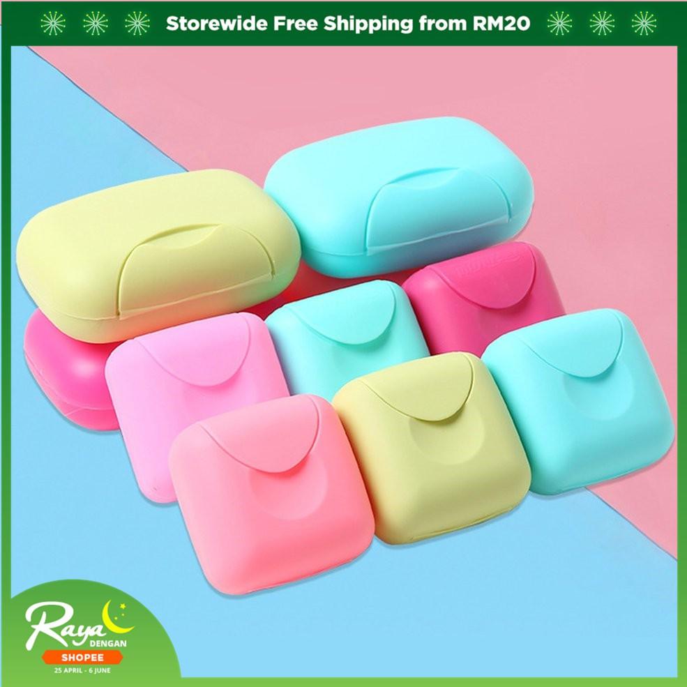 Soap Container Simple Practical Plastic Soap Box Soap Dish Soap Case Holder