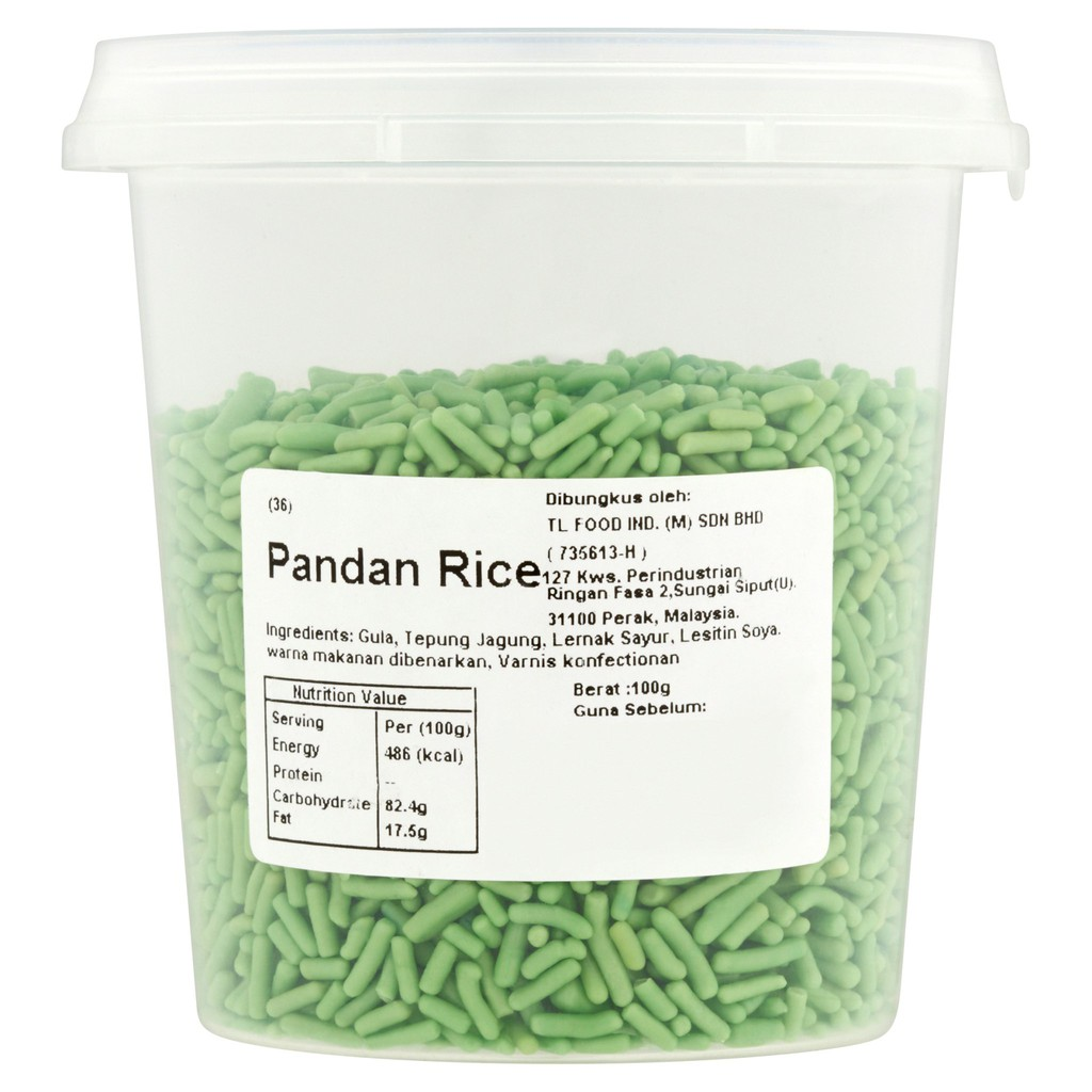 MyRasa Pandan Rice 100g