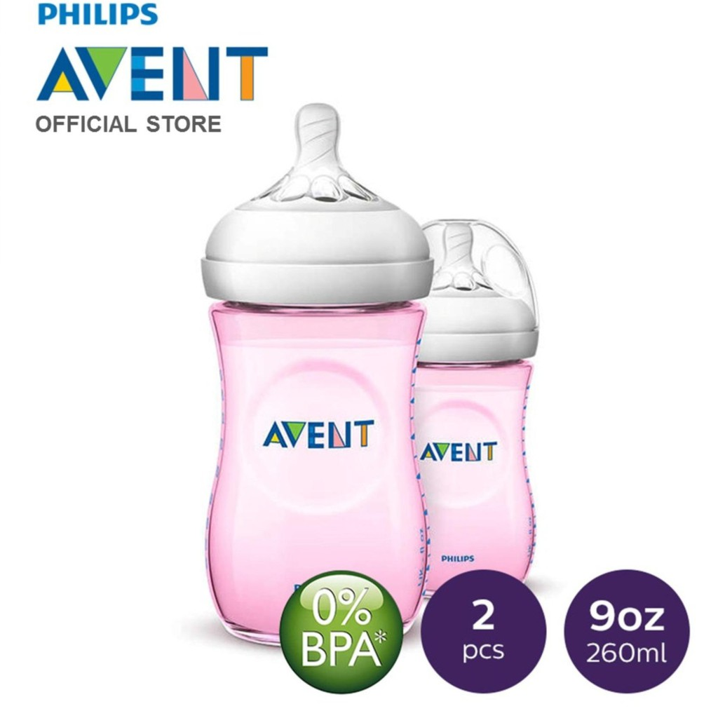 Philips Avent Natural Feeding Bottle Twin Pack 260ml Pink Color Comotomo 150 Ml Single Suavenix Baby 150ml Anatomical Silicone Teat Shopee Malaysia