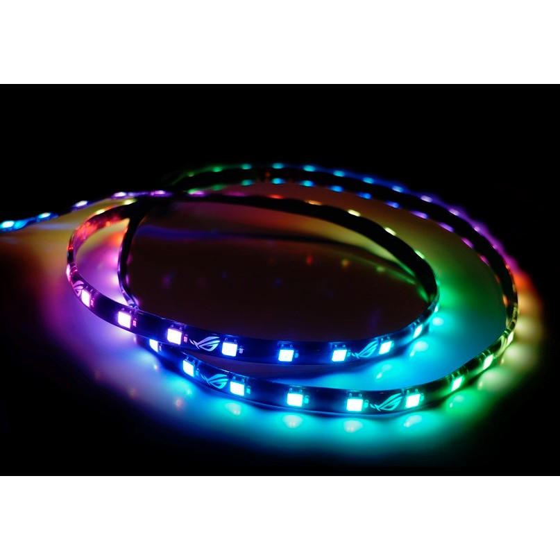 ASUS ROG Addressable RGB 5050 LED 60cm Lighting Strip with Magnetic Backing and