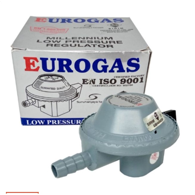 Pala Gas Eurogas Millennium Low Pressure Gas Regulator SIRIM APPROVE