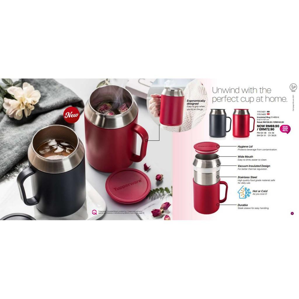 (Tupperware) Insulated Mug (1) 400ml