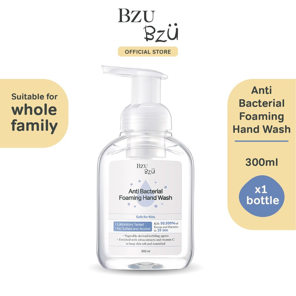 BZU BZU Anti Bacterial Foaming Hand Wash (300ml)