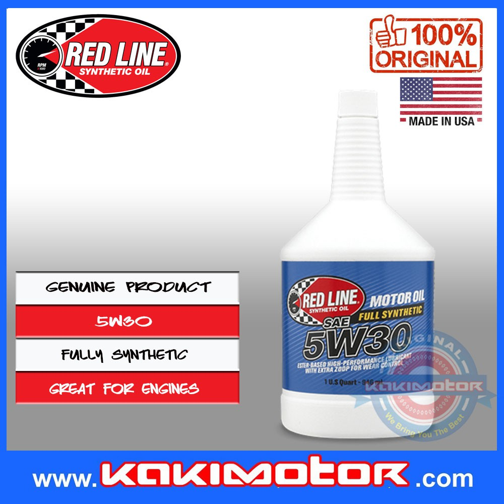 Red Line Engine Oil (946ml) 5W30