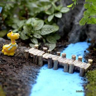 Diy Fairy Garden Miniature Resin Tree Stump Bridge Craft