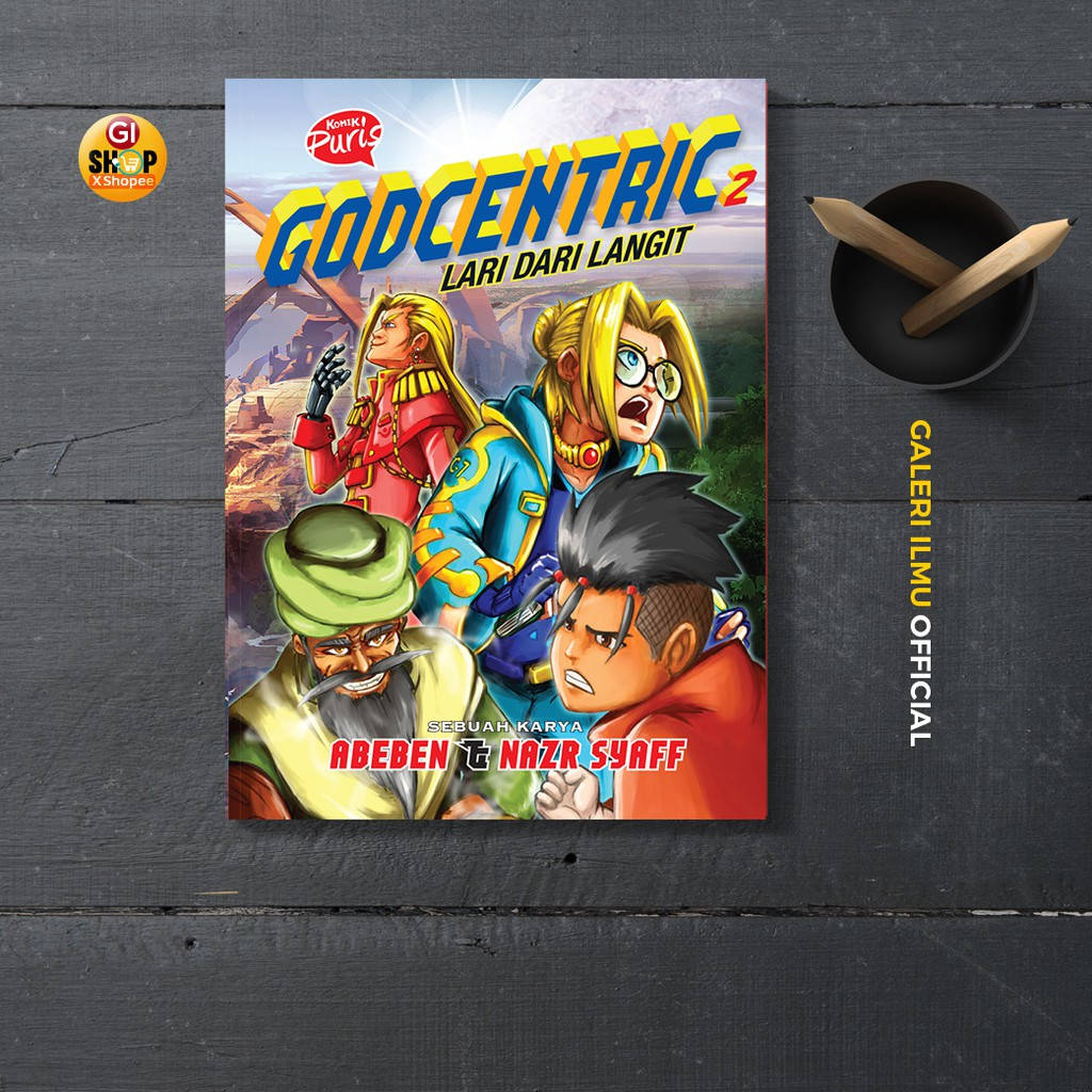 GODCENTRIC 2 Komik Puris - ABEBEN & NAZR SYAFF