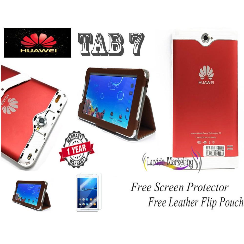 Huawei Tab 7 Mini Tablet Mini Tab Android mini Tablet Dual Sim Memory Card  ( 2GB RAM 16GB ROM ) New Promotion !