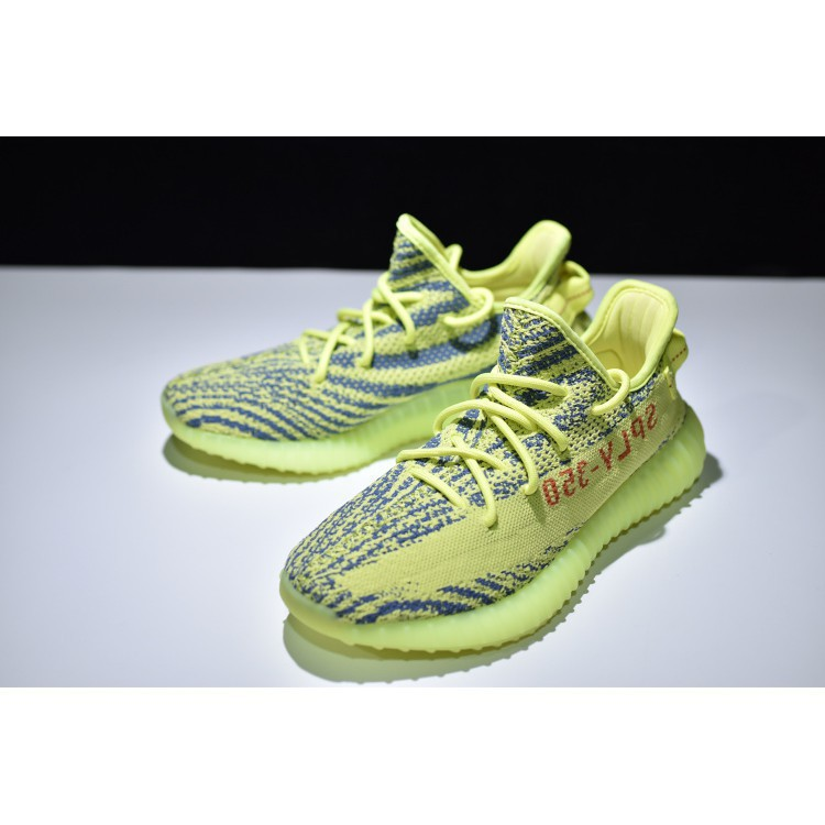 low priced 523f5 70e26 Original Adidas Yeezy Boost 350 V2 Green Running Shoes