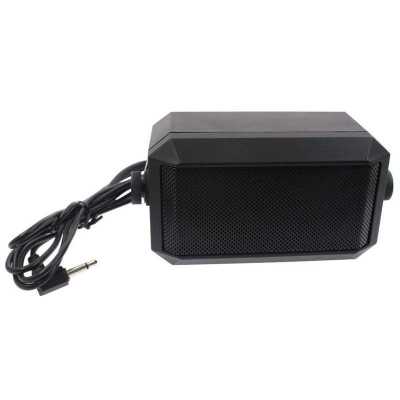 NEW Rectangular External Communications Speaker for Ham Radio CB /& Scanners