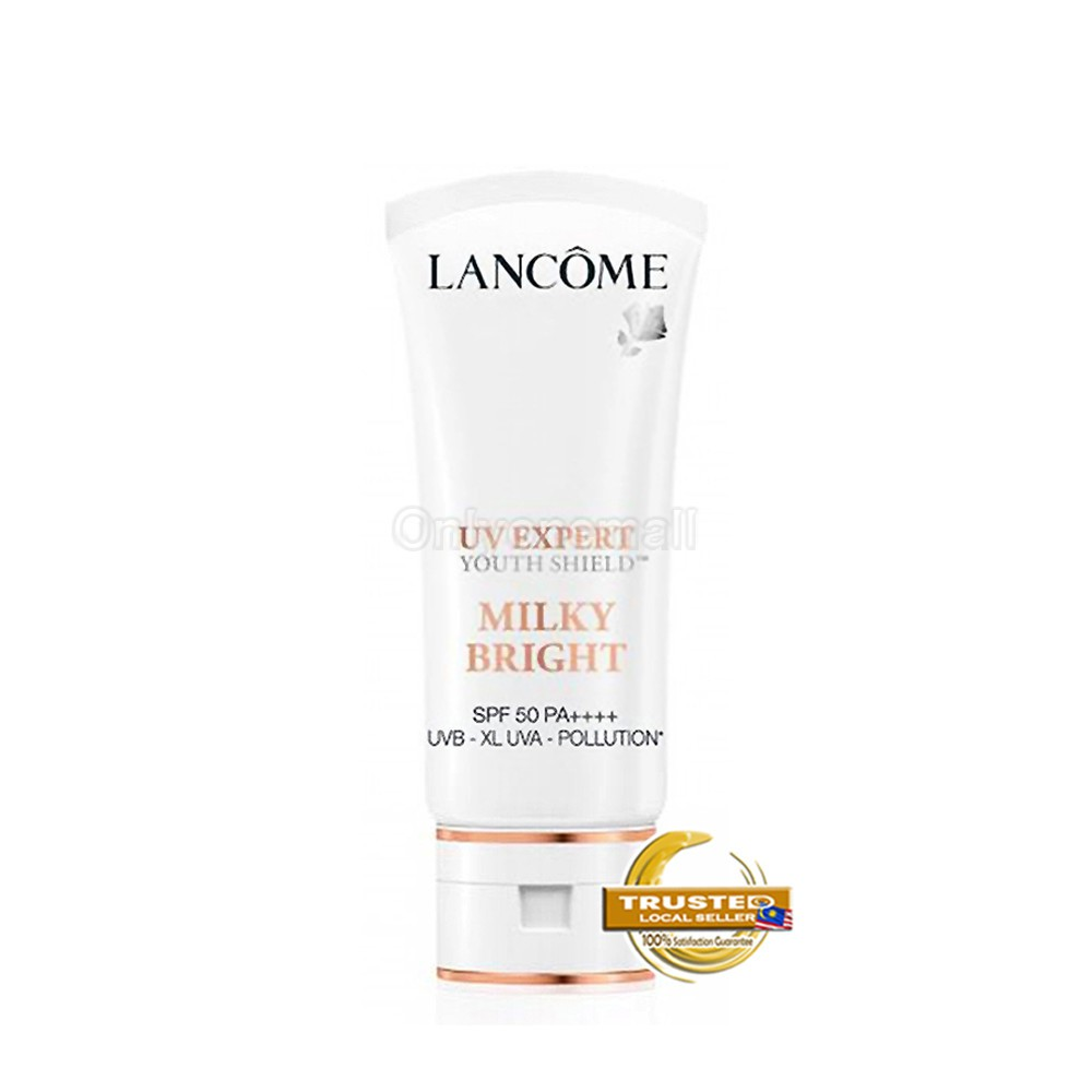 Lancome UV EXPERT MILKY BRIGHT SPF 50 PA ++++ 50ml (With Free Gift)