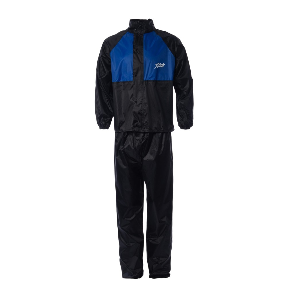 XDOT Raincoat Motorcycle RC08 (BLUE) Baju Hujan