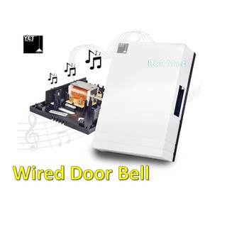 Wired Home Door Bell Chimes Loceng Rumah Shopee Malaysia