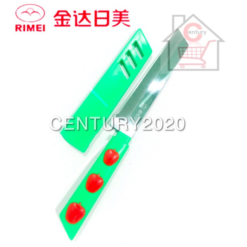 RIMEI Fruit Knife Kitchen Portable Fruit Knife With Cover Kitchen Tools 5146