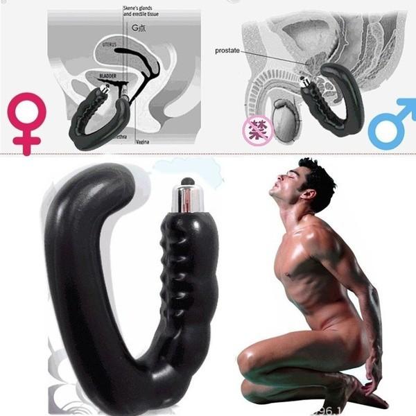 (READY STOCK) Male/Female G-Spot U Shape Prostate Stimulator Massager (LOCAL SELLER)