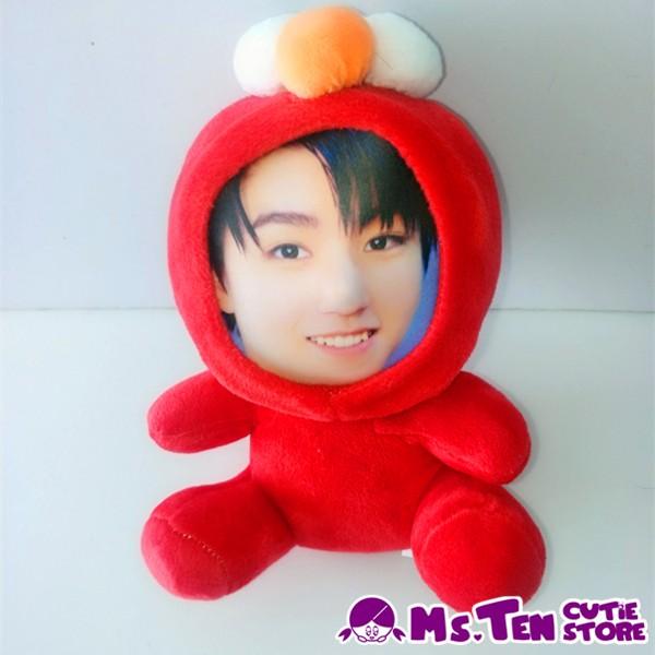 Creative Special Gifts Customized DIY 3D Face Toys Sesame Street Elmo