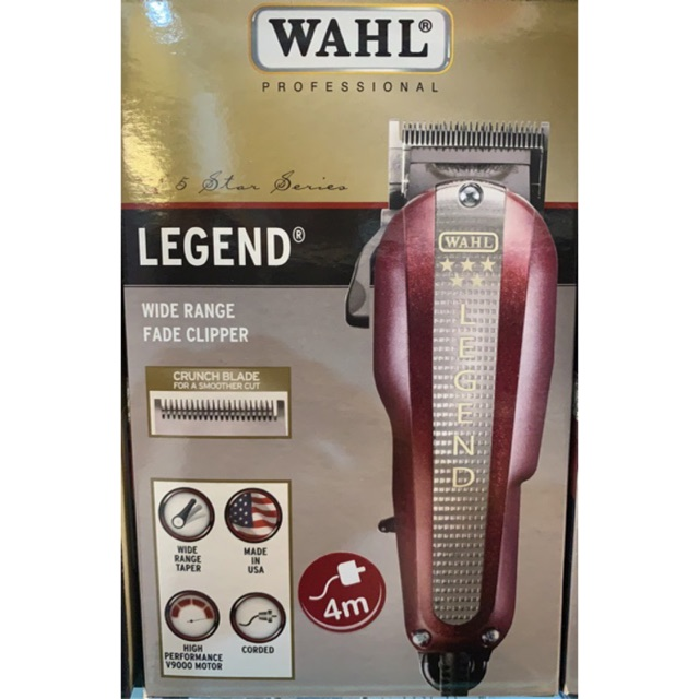 Wahl Professional Barber Combo (Legend + Hero) Free Wahl Fade Brush ... 01a25df2e0