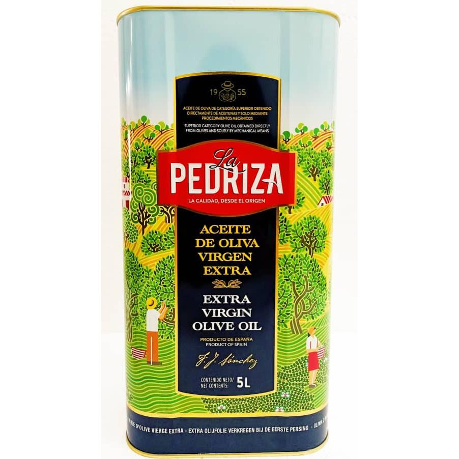 5Litre Extra Virgin Olive Oil Minyak Zaitun 橄榄油 (EVOO)