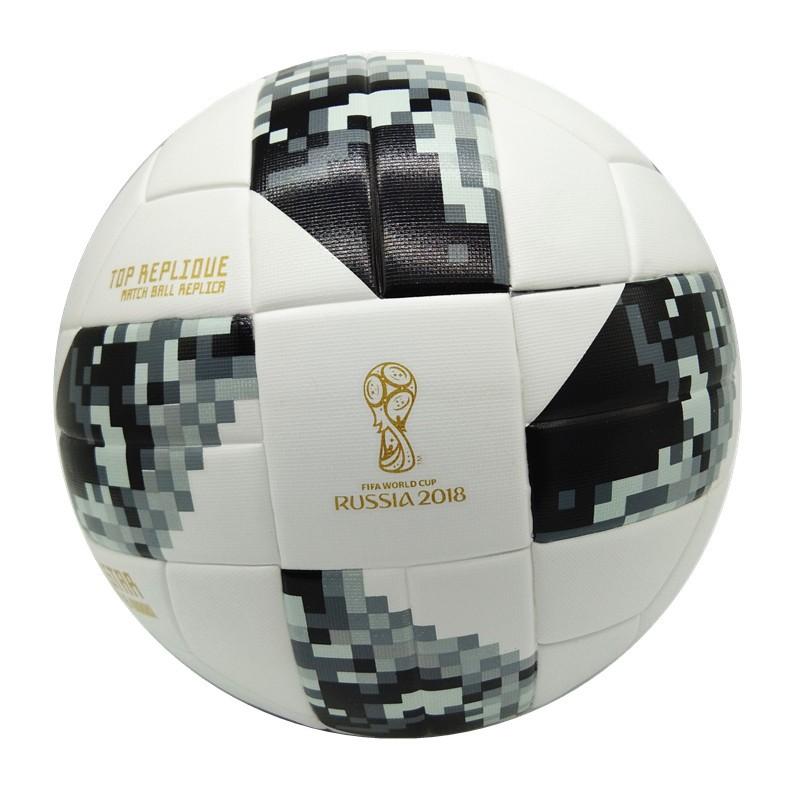 2018 ฟุตบอลโลกขนาด 5 ลูกฟุตบอลฟุตบอลอาชีพฝึกอบรม PU ลูกฟุตบอล 2018 World Cup size 5  football ball Soccer