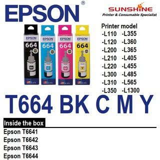 ORIGINAL == EPSON T664 Refill Ink L120 L210 L360 L405 L565