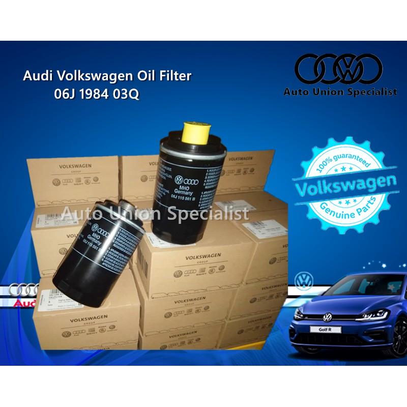 VW Audi Volkswagen Oil Filter Audi A3 A4 A5 TT Volkswagen Golf GTI Passat-06J 198 403 Q / 06J 115 403 Q