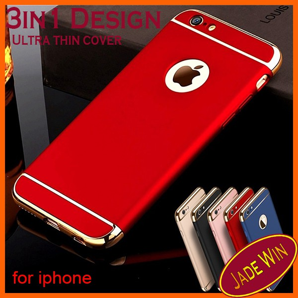 iPhone 6s 7 8 X iPhone Xs case 3in1 Removable Ultra Thin Back Cover Hard  case