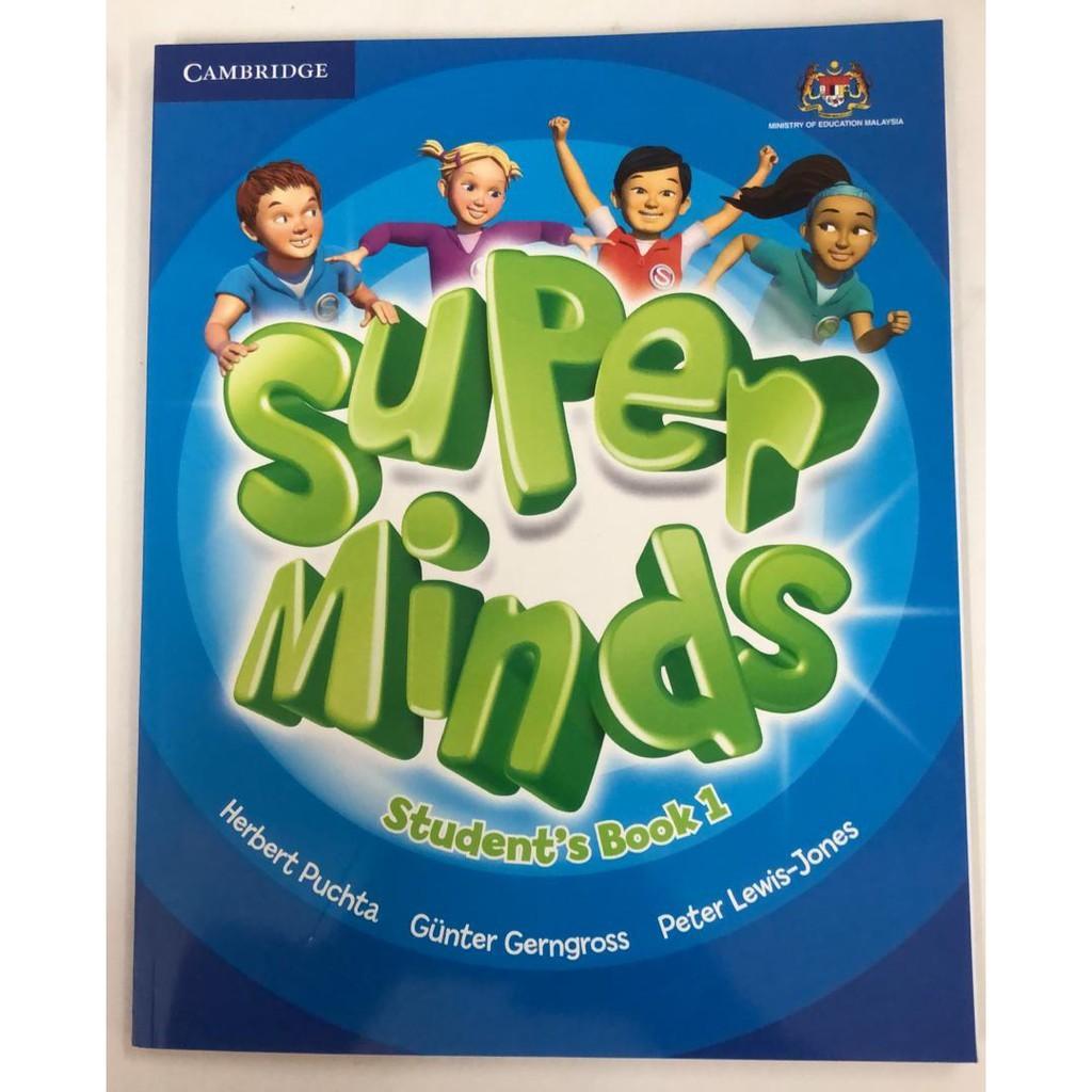 Teks Book Super Minds Student S Book 1 Bahasa Inggeris Tahun 1 Dan 2 Pa 01 Shopee Malaysia