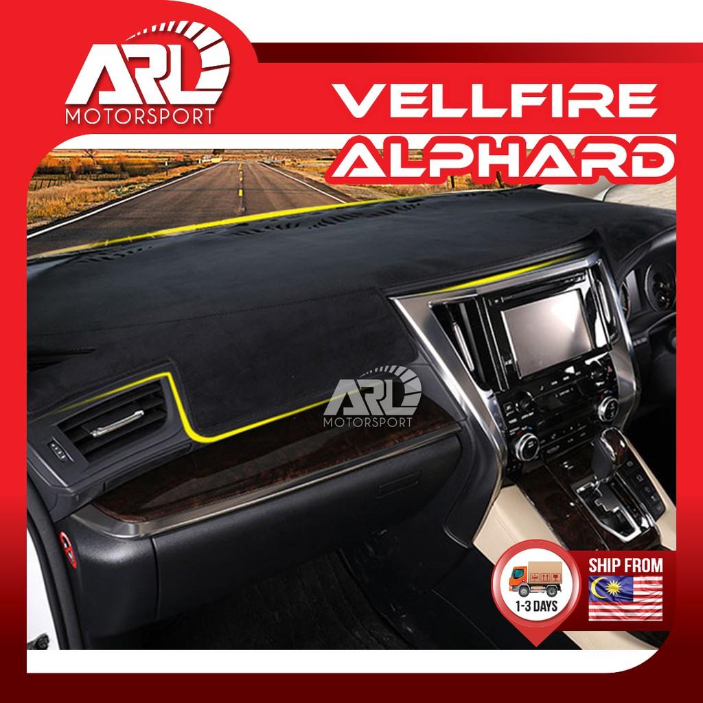 Toyota Alphard / Vellfire(2015-2020)AH30 AGH30 Dashboard Carpet Cover Anti Slip Pad Car Auto Acccessories ARL Motorsport