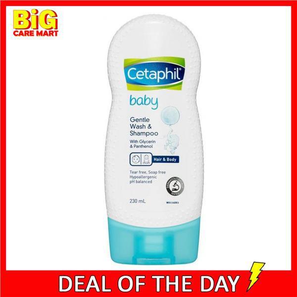 Cetaphil Baby Gentle Wash Shampoo 230ml Sensitive Skin