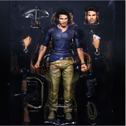 Readystock Neca Nathan Drake Uncharted 4 Ultimate 7 Action Figure Collection 1 12 No Box