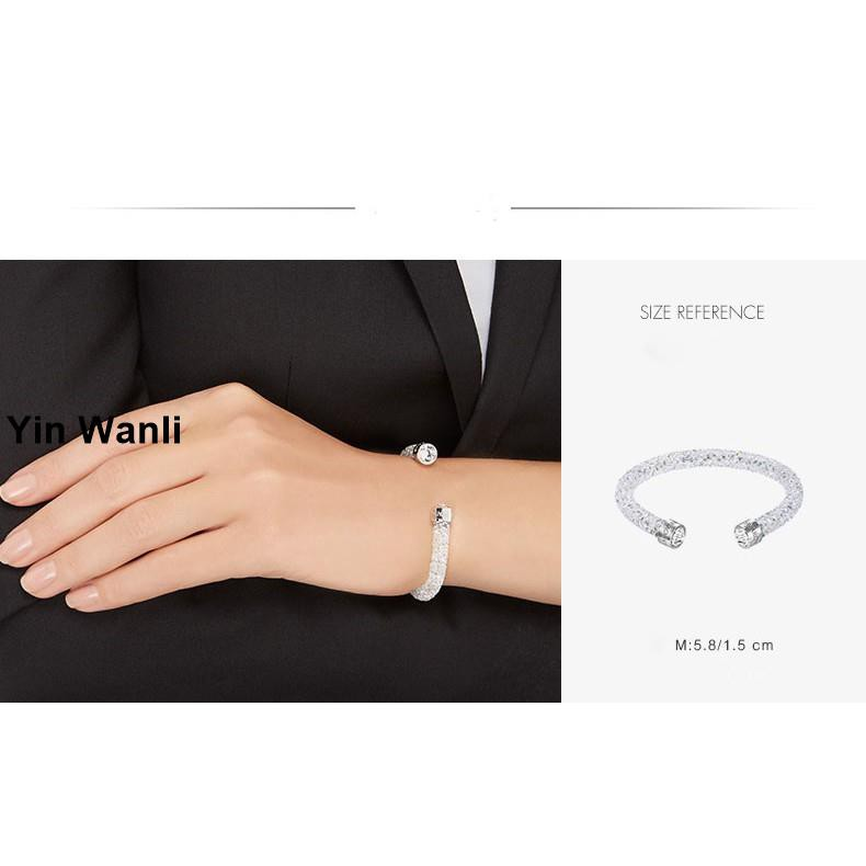 [Special price] Original Swarovski CRYSTALDUST Fresh FASHION Charm crystal  Bracelets Bracelet Gelang Women LOVE 5250072