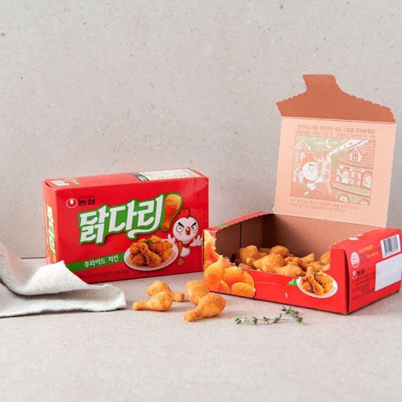 香辣烤肉味鸡腿酥 Nongshim Fried Chicken Drumstick Snack 66g