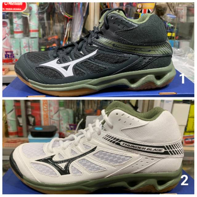 green mizuno volleyball shoes 70s