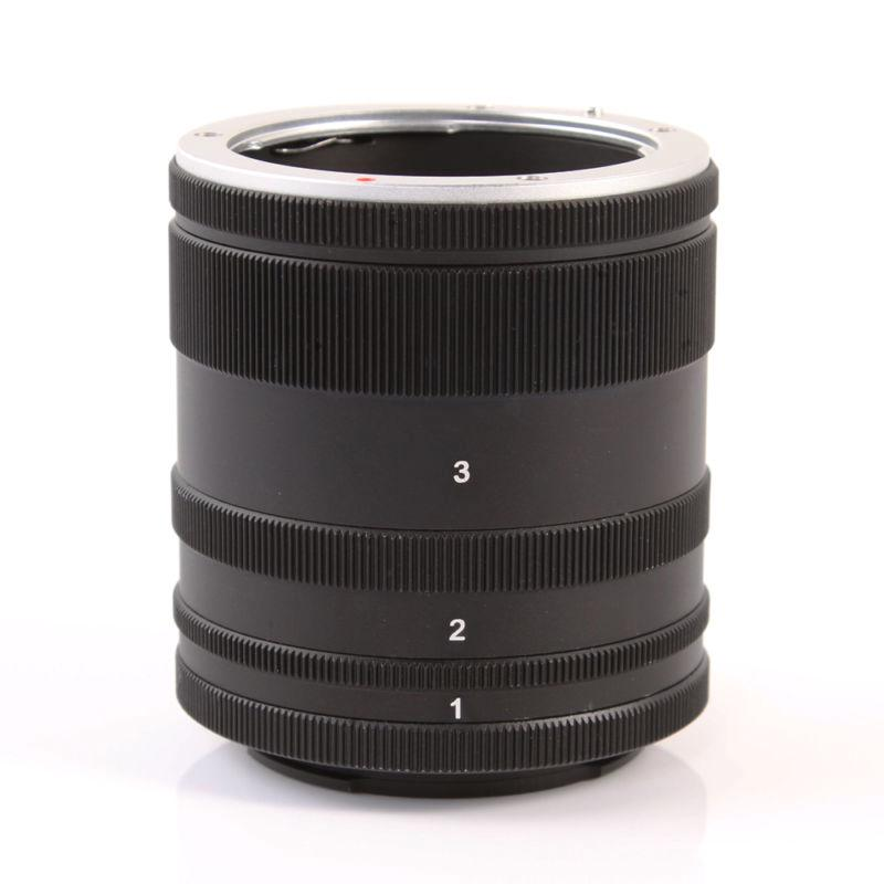 Macro Extension Tube Ring For Sony E Mount NEX Camera Lens A7 A7R S A5100 A6000 | Shopee Malaysia