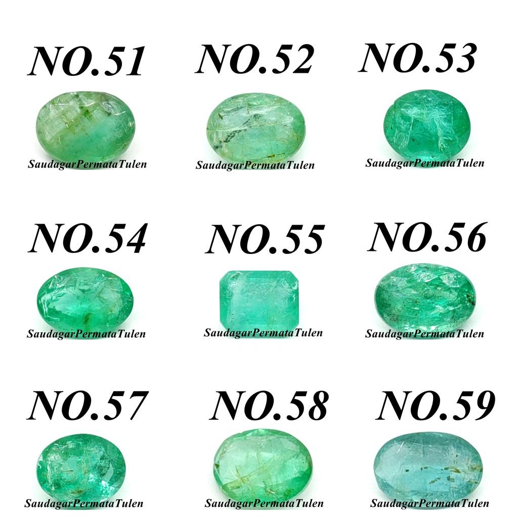 Aa Grade Zamrud Zambian Emerald