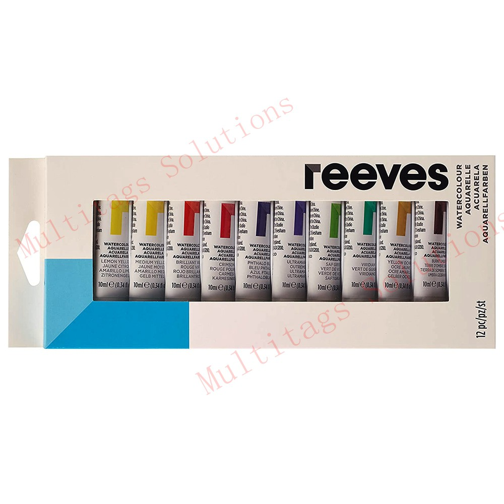Reeves 12x10ml Water Color Set/Artist Colours
