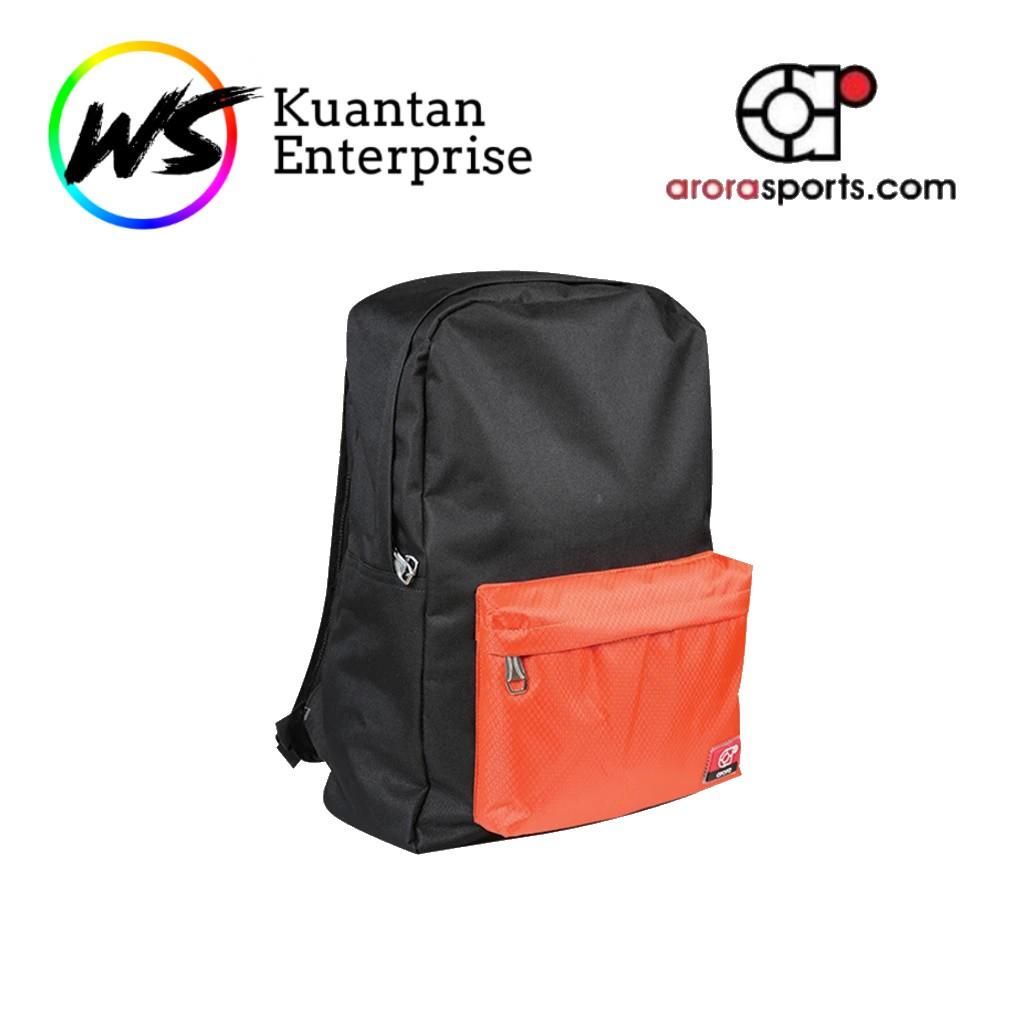 【100% Original】ARORA SPORTS Bag Pack - Orange / Red / Green (BP06)
