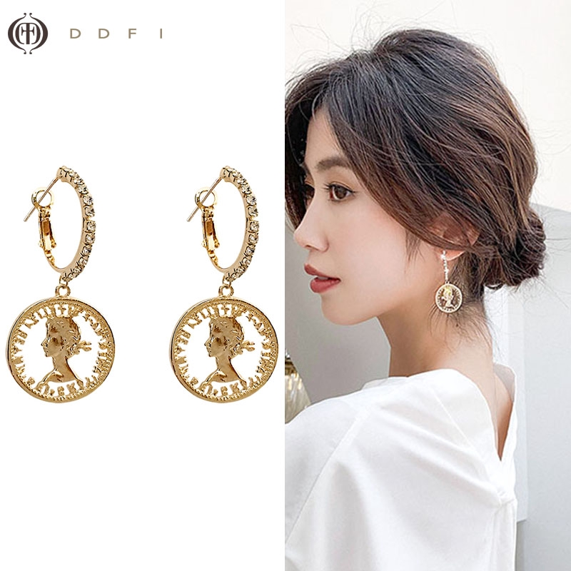 WandT S925 Fashion Fringed Temperament Earrings Young Lady Girl Birthday