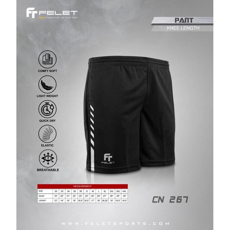 Fleet Felet Badminton Sports Short Pants CN267