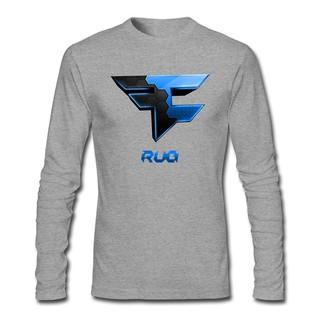 Kingdiny Men S Faze Rug Logo Long Sleeve T Shirt