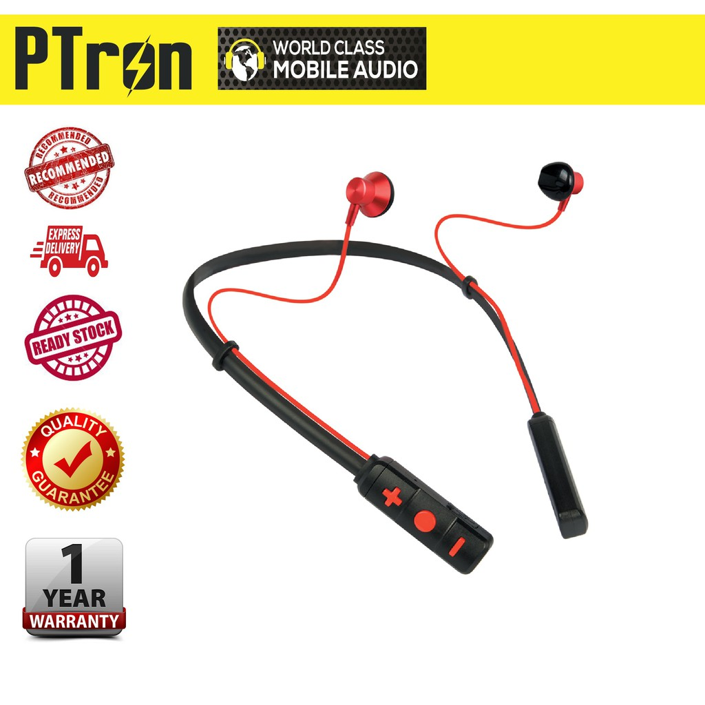PTron Tangent Pro,Wireless Sports Neckband
