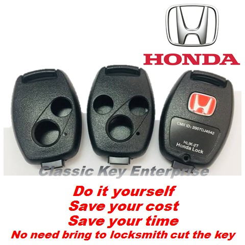 Honda Remote Key Replacement