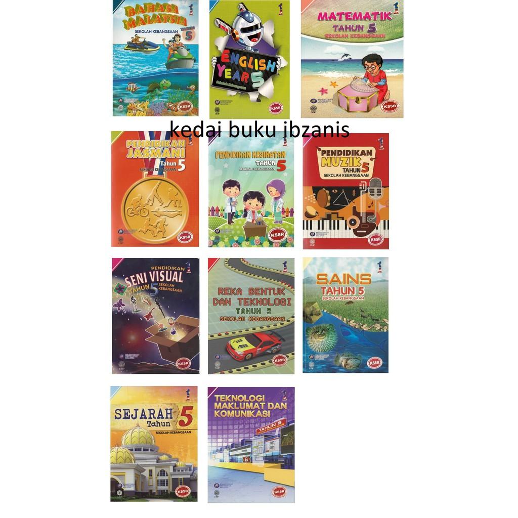 Set Buku Teks 2020 Tahun 5 Set Jimat Buku Teks Subjek Utama Shopee Malaysia