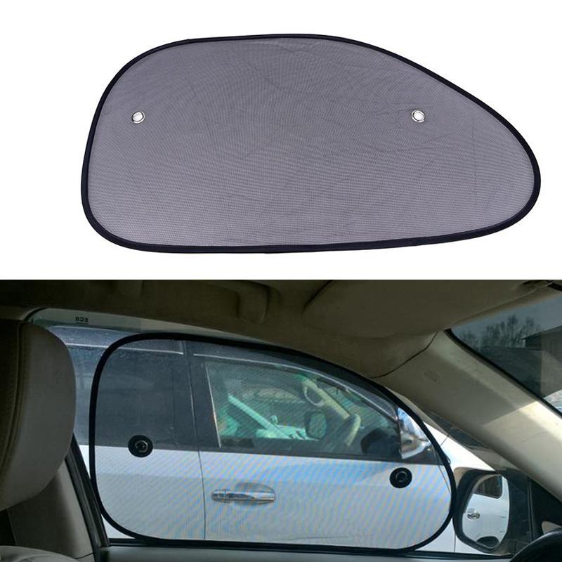 2Pcs Sun Shade Side Rear Window Screen Mesh Cover Sunshade Protector For Car NEW