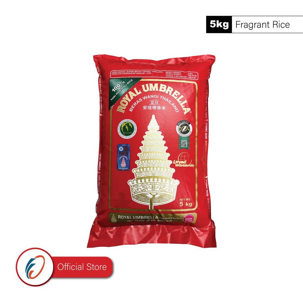 Royal Umbrella Premium Fragrant Rice (5kg)